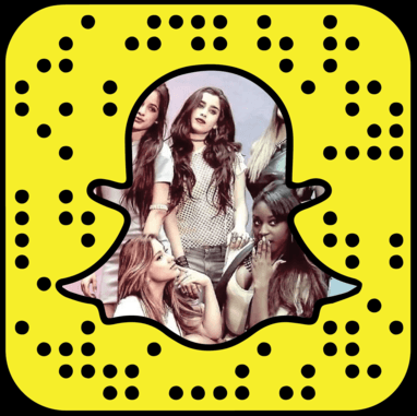 5th Harmony Snapchat username