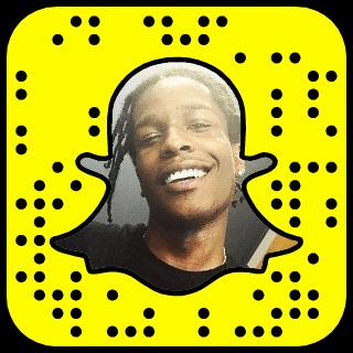 A$AP Rocky Snapchat username