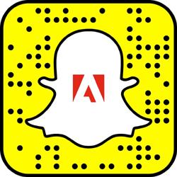 Adobe Snapchat username