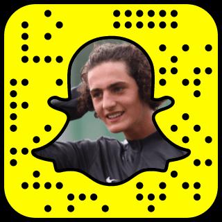 Adrien Rabiot Snapchat username