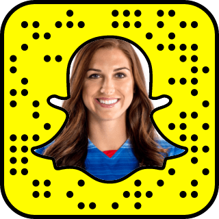 Alex Morgan snapchat