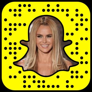 Amanda Holden Snapchat username