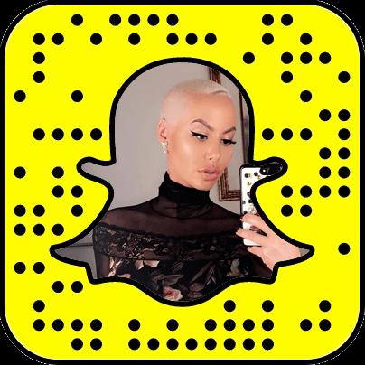 Amber Rose Snapchat username