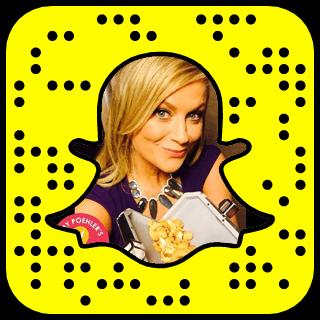 Amy Poehler Snapchat username