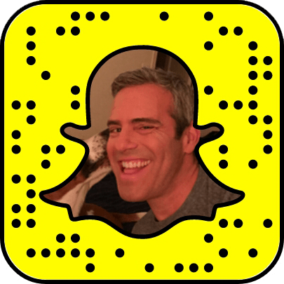 Andy Cohen Snapchat username