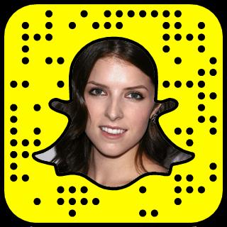 Anna Kendrick Snapchat username