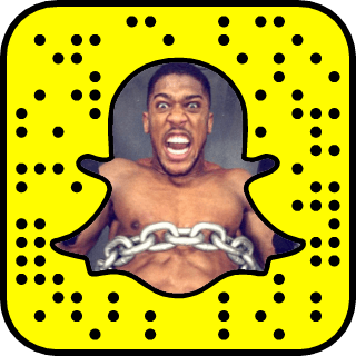 Anthony Joshua Snapchat username
