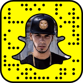 Anuel AA Snapchat username