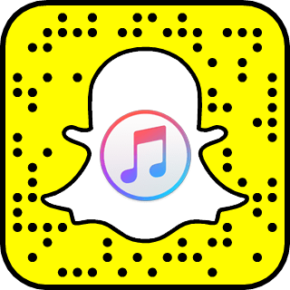 Apple Music snapchat
