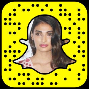 Athiya Shetty Snapchat username