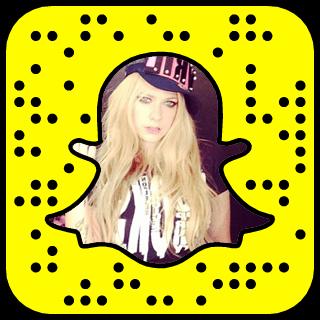 Avril Lavigne Snapchat username