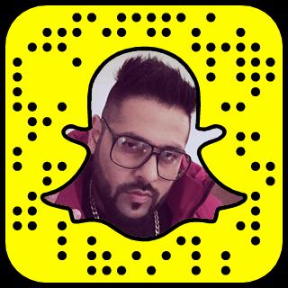 Badshah Snapchat username
