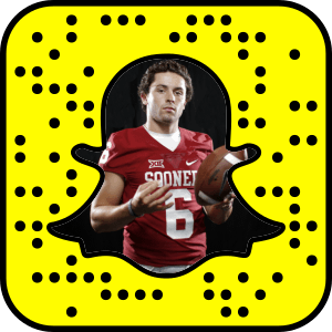 Baker Mayfield Snapchat username