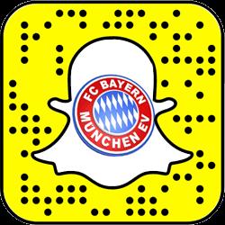 Bayern Munich Snapchat username