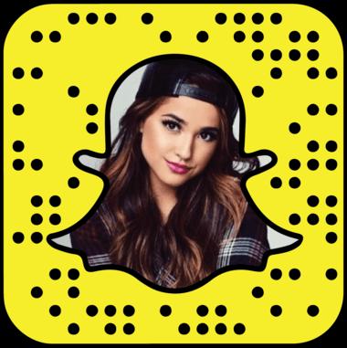 Becky G Snapchat username