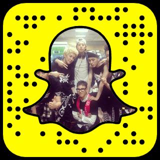 Block B Snapchat username