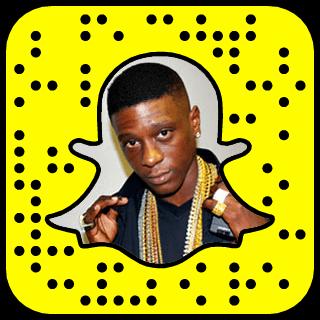 Boosie Badazz Snapchat username