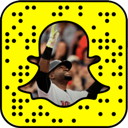 Boston Red Sox Snapchat username