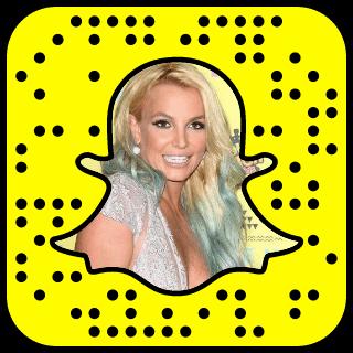 Britney Spears Snapchat username