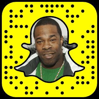 Busta Rhymes Snapchat username