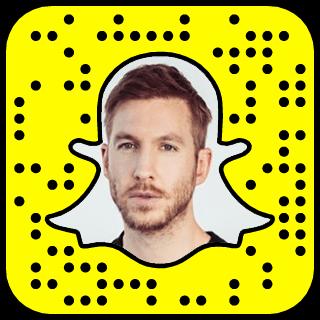 Calvin Harris Snapchat username