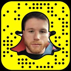 Canelo Alvarez Snapchat username