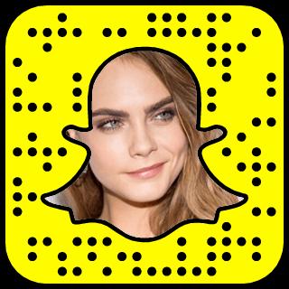 Cara Delevingne Snapchat username