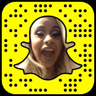 Cardi B Snapchat username