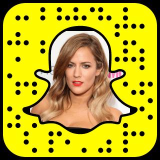 Caroline Flack Snapchat username