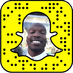 Chad Ochocinco Snapchat username