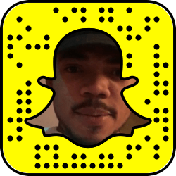 Chance the Rapper snapchat