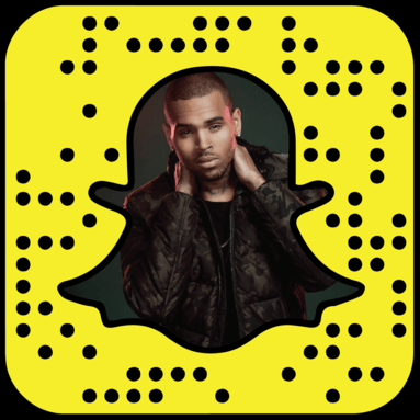 Chris Brown Snapchat username