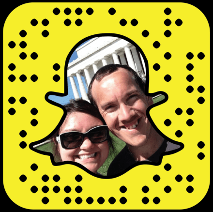 Chris & Heather snapchat