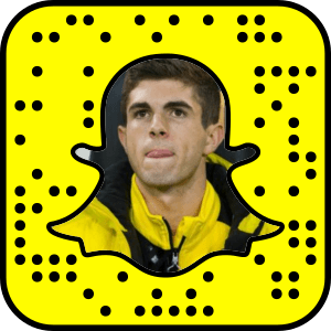 Christian Pulisic Snapchat username
