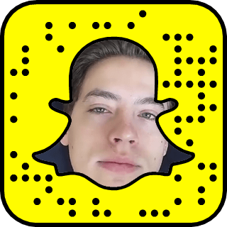 Cole Sprouse Snapchat username