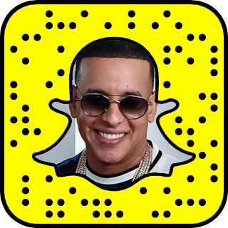Daddy Yankee Snapchat username