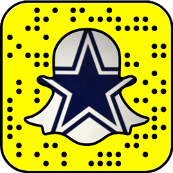 Dallas Cowboys Snapchat username