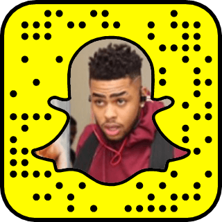 D'Angelo Russell Snapchat username