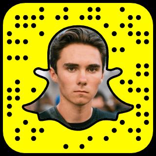 David Hogg Snapchat username