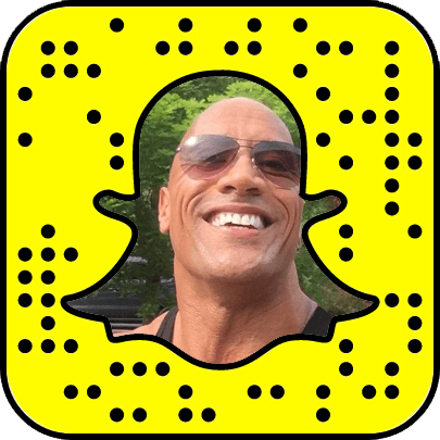 Dwayne Johnson Snapchat username