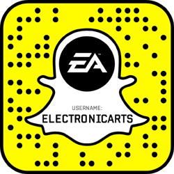 Electronic Arts Snapchat username