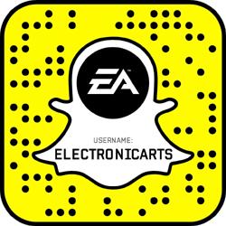 Electronic Arts snapchat