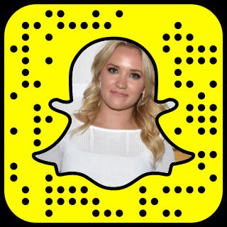 Emily Osment Snapchat username