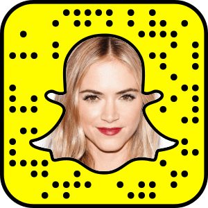 Emily Wickersham Snapchat username