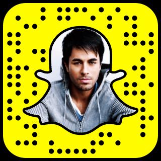 Enrique Iglesias Snapchat username