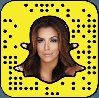 Eva Longoria Snapchat username