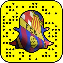 FC Barcelona Snapchat username