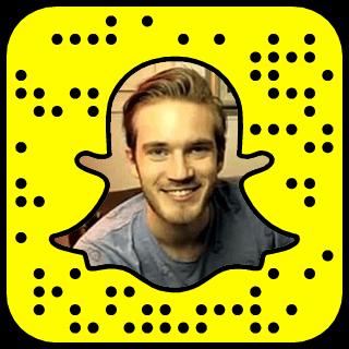 Felix Kjellberg Snapchat username