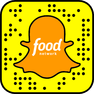 Food Network Snapchat username