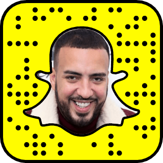 French Montana Snapchat username